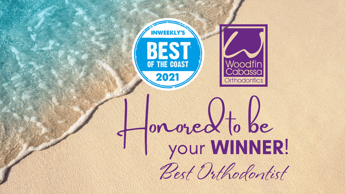 Thank you for voting us Best Orthodontist 3 years in a row!